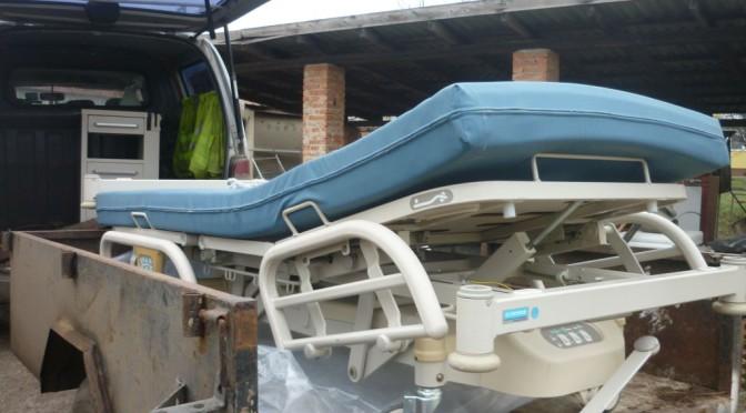 Elektromos kórházi ágyat adott kölcsön alapítványunk