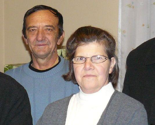 Horváth István és felesége Marika a két alapító