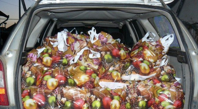 Étkezési almát adományozott a Horváth István Alapítvány