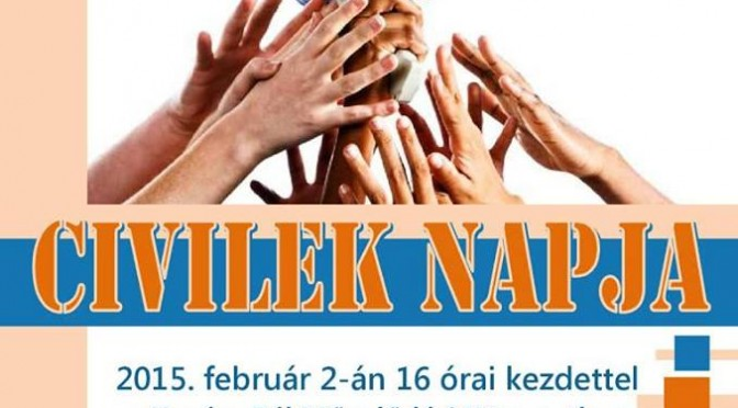 A Horváth István Alapítvány képviselői is részt vettek a Civilek Napja elnevezésű rendezvényen