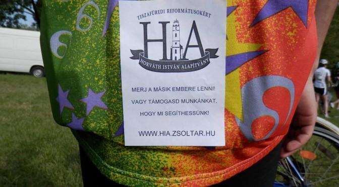 Tour de Tisza-tó 2015 versenyző kerékpárost támogatott a HIA