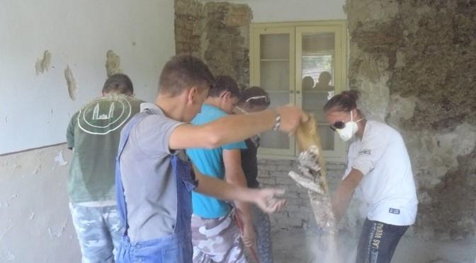 Az V. Diakóniai tábor alkalmával Kusalyban munkálkodtunk